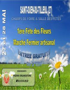 «1ère fête des fleurs et des jardins»...