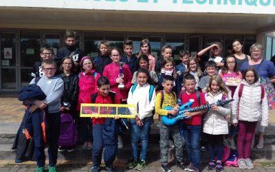 Les élèves de Mme Vandeville vainqueurs de la finale  du rallye Maths IREM.