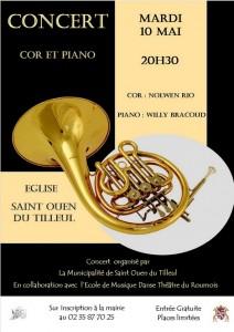 Concert cor et piano - église St Jacques