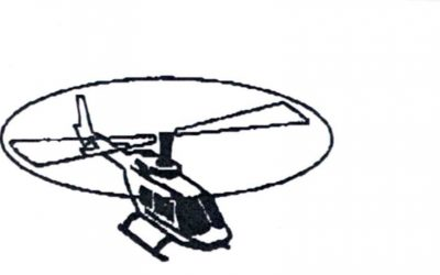 Visite des lignes électriques par hélicoptère