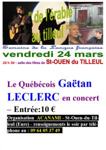 ACANAMI Fêtons la Francophonie à St-Ouen...