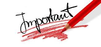 IMPORTANT! inscriptions école
