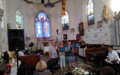 Ouverture de l'église de St-Ouen-du-Tilleul