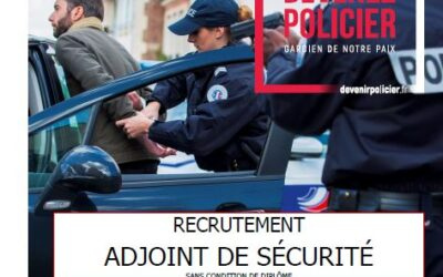 RECRUTEMENT ADJOINT DE SECURITE